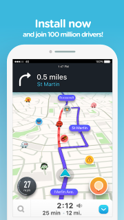 Waze - GPS, Maps, Traffic Alerts & Sat Nav screenshot 10
