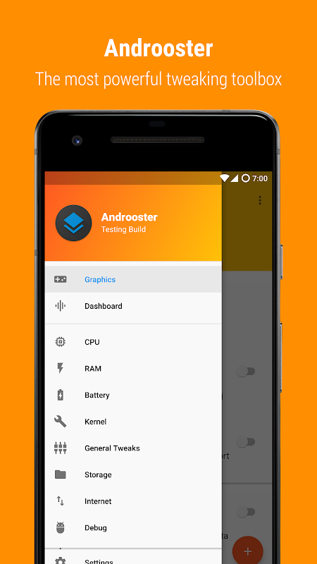 Androoster screenshot 1