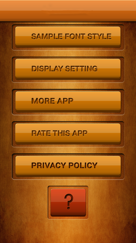 50 Fonts for Samsung Galaxy 8 screenshot 1
