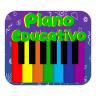 Icono Piano Educativo- Niños, Música, Letras y Animales