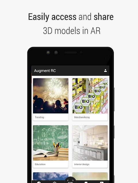 Augment - 3D Augmented Reality screenshot 4