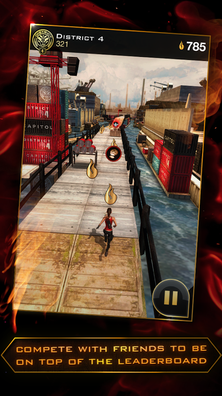 Hunger Games - Panem Run screenshot 2