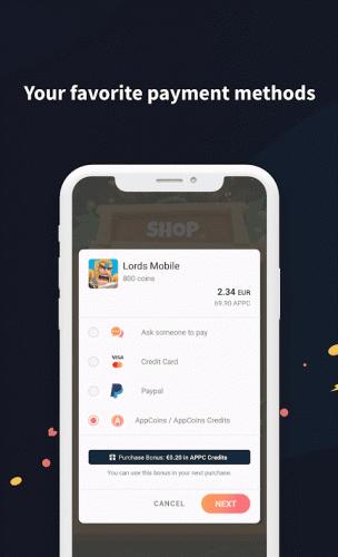 AppCoins Wallet screenshot 6