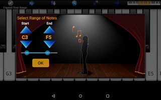 Voice Training Pro Screen