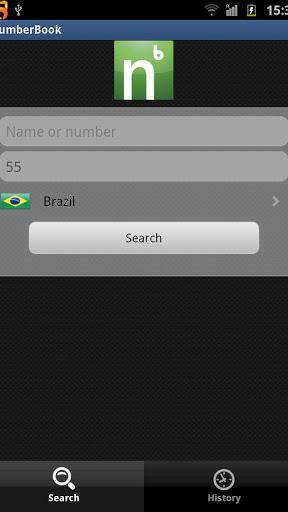 NumberBook screenshot 1