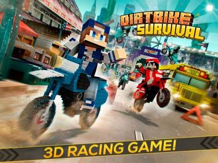 Dirtbike Survival Block Motos screenshot 8