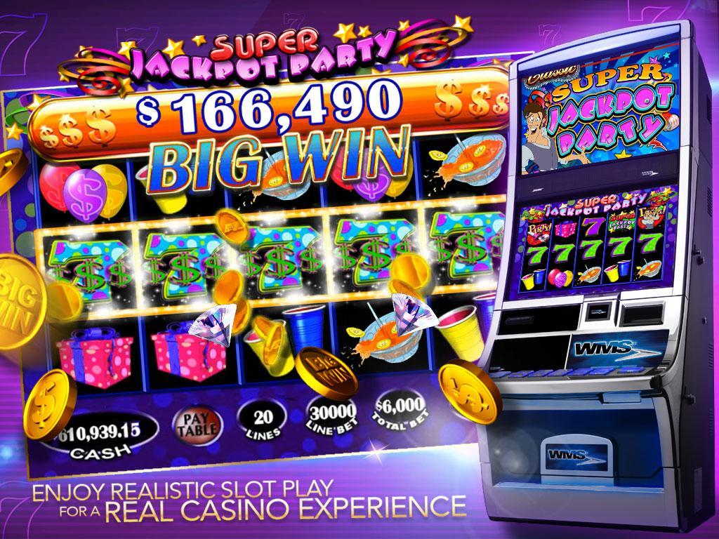 Jackpot party slot machine app