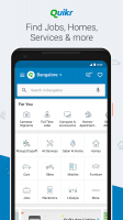 Quikr – Search Jobs, Mobiles, Cars, Home Services Screen