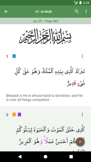 Al Quran (Tafsir & by Word) screenshot 1