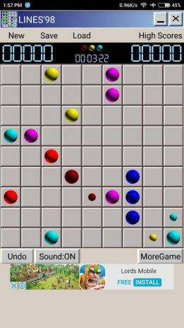 Игра color lines: скачать color lines бесплатно | gamelines. Ru.