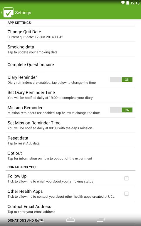 Tick dating smoke free