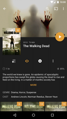 Plex: Stream Movies, Shows, Music, and other Media screenshot 17