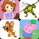 Cartoons Memory Game for Kids
