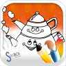 home coloring book Icon