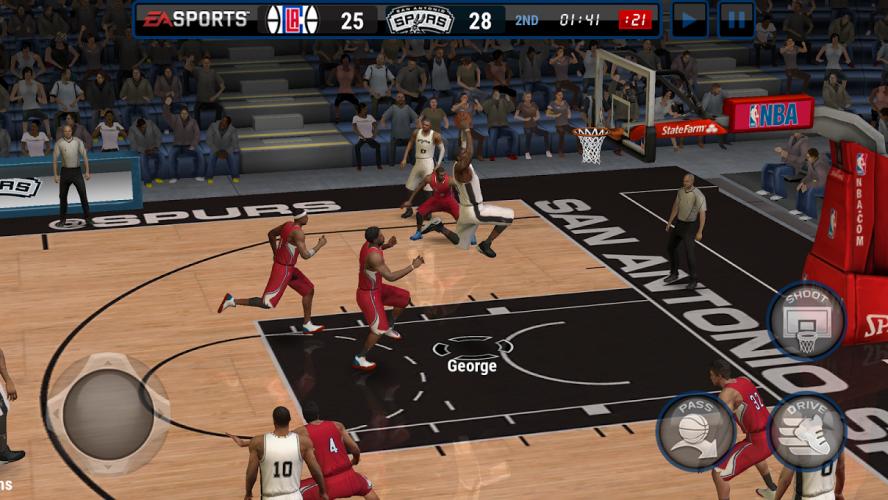NBA LIVE Mobile Basquete screenshot 1