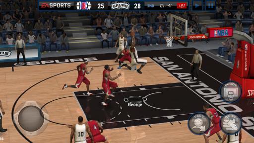 NBA LIVE Mobile Basketball screenshot 1