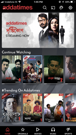 Addatimes - Originals | Movies | Music | Sports 160 Download