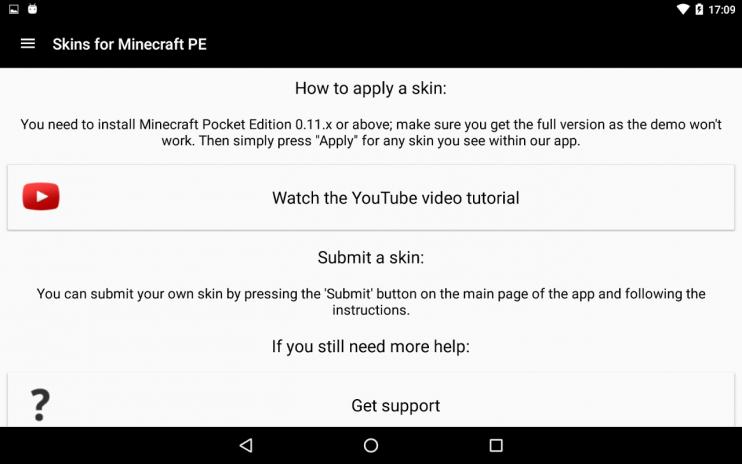 Skins For Minecraft PE Laden Sie APK Für Android Herunter Aptoide - Skins fur minecraft installieren