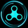 fidget spinner simulator icon