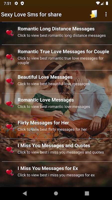 Romantic text sexy 78 Romantic
