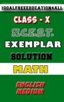 Class 10 math(English) Ncert exemplar Screen