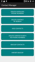 Contact Manager Screenshot