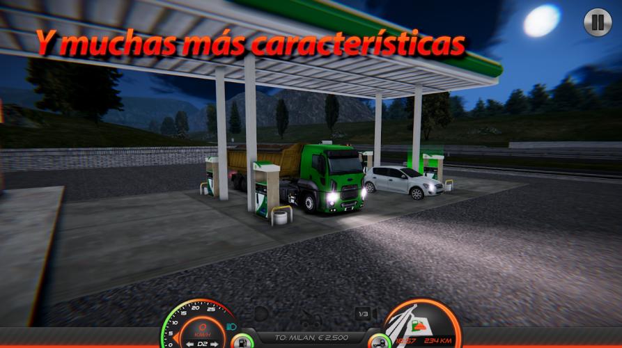 Simulador de Camión : Europa 2 screenshot 4