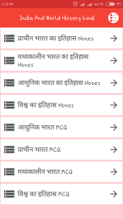 India World History Hindi 2 0 Download APK for Android - Aptoide