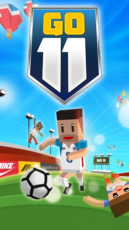 GO11 - Fantastic Soccer screenshot 1