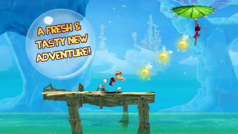 Rayman fiesta run iphone game free. Download ipa for ipad,iphone.