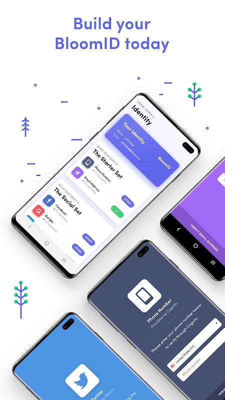 Bloom - Secure Identity screenshot 1
