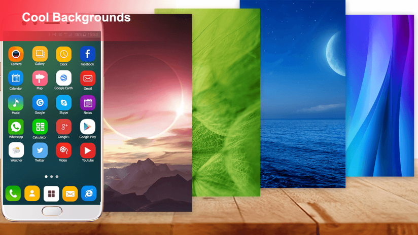 Theme For Oppo A57 Launcher And Hd Wallpapers 1 1 0 Download Apk