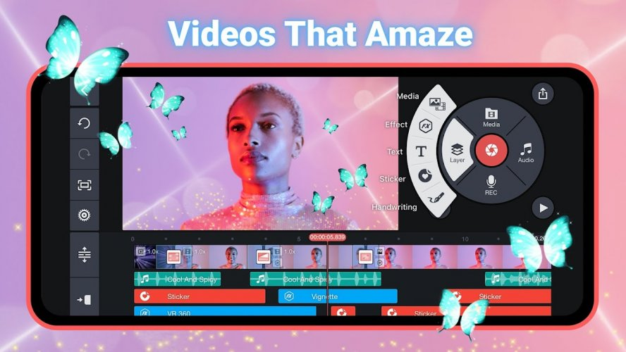 KineMaster – Editor Video Pro screenshot 1