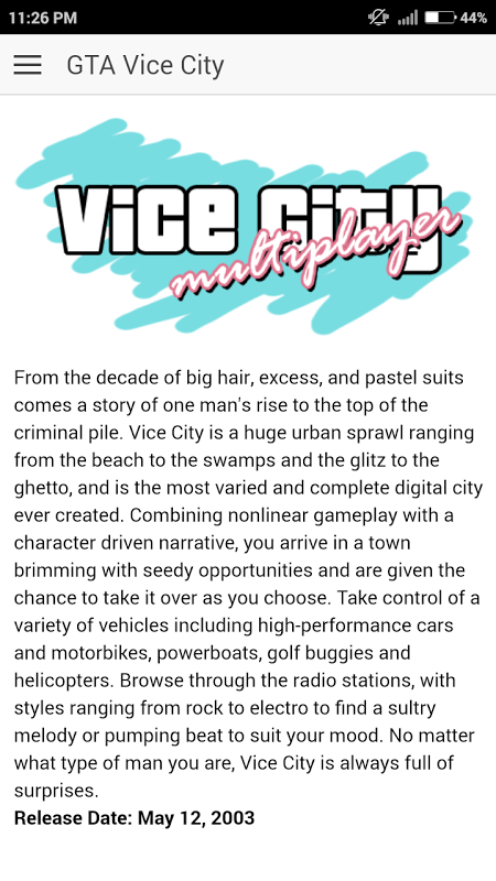 Cheat Code for GTA 4 Vice City 1 2 0 Download APK para