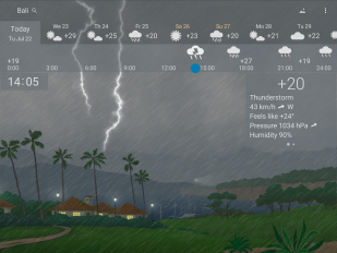 awesome weather yowindow live wallpaper widgets screenshot 12