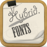Hybrid Fonts simge