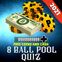 Free Coins and Cash for 8 Ball Pool Quiz 2021