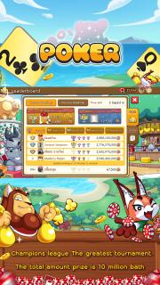 Dummy & Toon Poker Texas slot Online Card Game screenshot 8