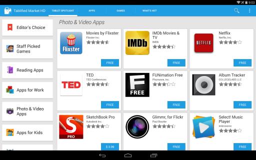 Tablified Market - Tablet Apps screenshot 23