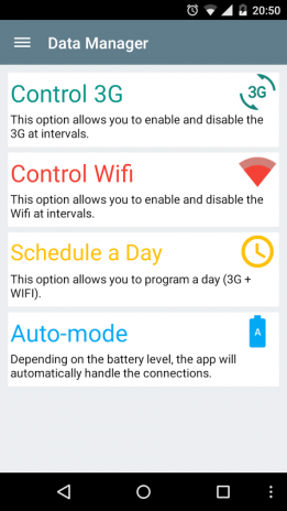 Data Manager (Wifi + 3g) VANILLA Download APK for Android - Aptoide