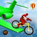 Superhero Cycle Racing Stunt: BMX Stunt Riding