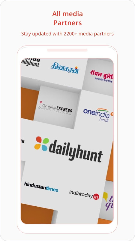 Dailyhunt (NewsHunt) News screenshot 2