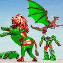 Dragon Robot Car Game - Formula Car Robot Game 3d