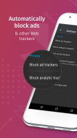 Firefox Focus: The privacy browser Screen