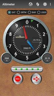Altimeter screenshot 1