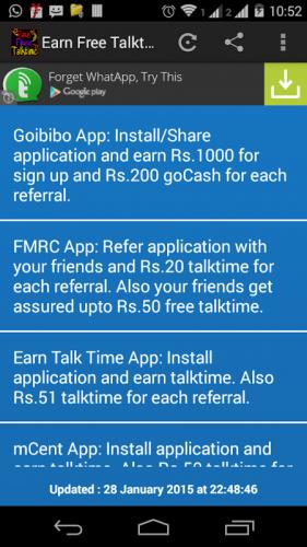 Earn Free Talktime 1 0 Download Android Apk Aptoide