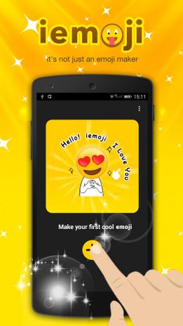 تحميل APK لأندرويد - آبتويد iemoji-free emoji maker1 1