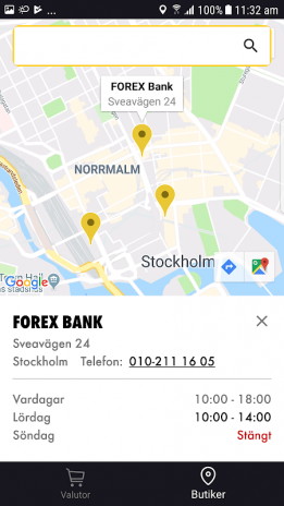 Forex bank in uppsala