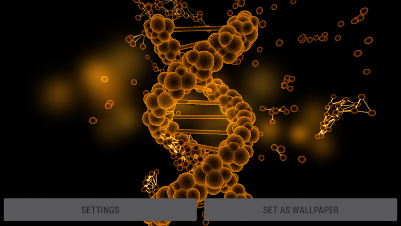 Blood Cells Particles 3d Parallax Live Wallpaper Screenshot 2