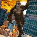 Monster Kaiju Godzilla vs Kong City Destruction 3D